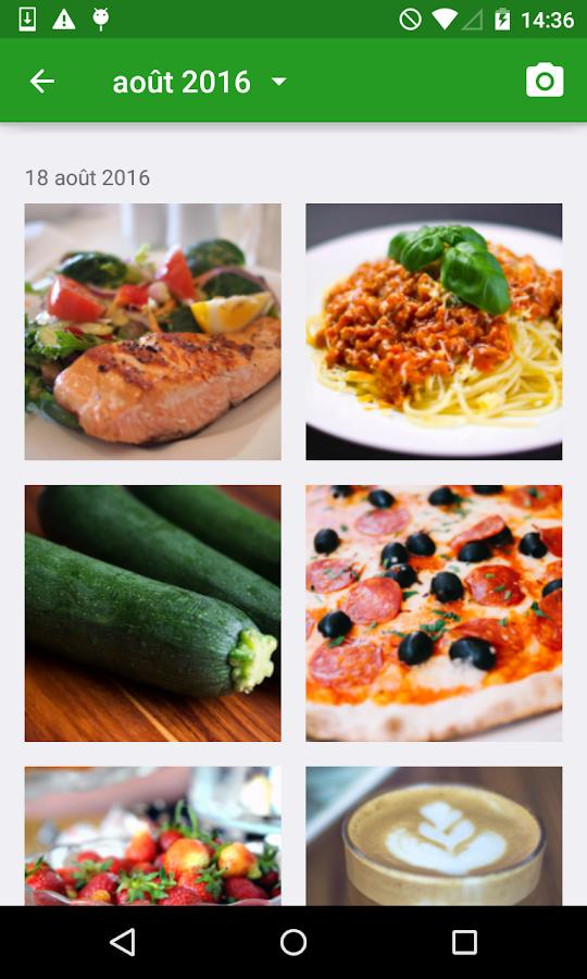 Compteur de Calories FatSecret - Applications Android sur..