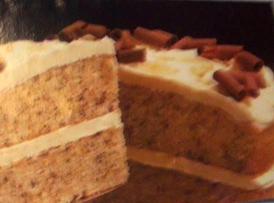 Irish Cream  Chiffon Cake