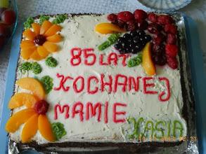 Photo: 11 XI 2013 roku - i na pyszny tort..........