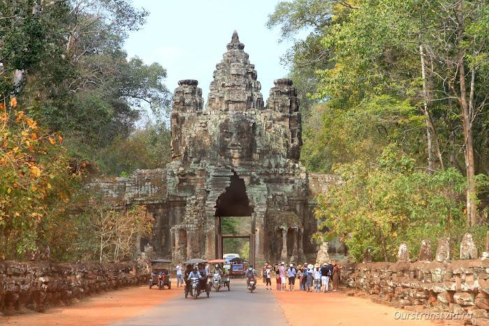 Ворота Победы, Ангкор Том