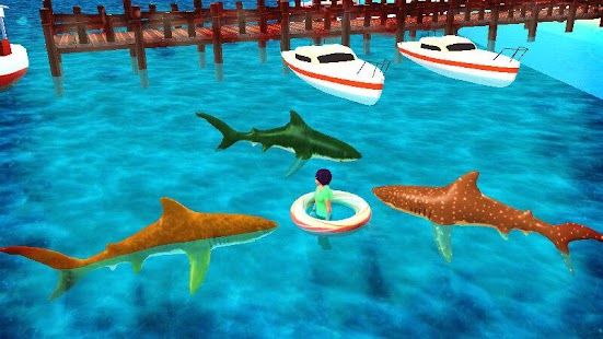 Monster Shark Attack screenshot