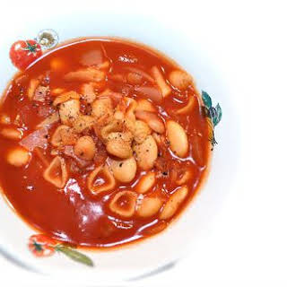 Italian Chicken & Butter Bean Soup.