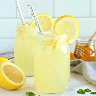 Healthy 3-Ingredient Lemonade.