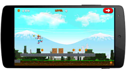 Skater boy Crazy game screenshot 3