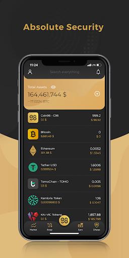 Coin98 Wallet - Crypto & Bitcoin Wallet  screenshots 1