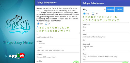 Telugu Baby Names And Meanings Apps On Google Play