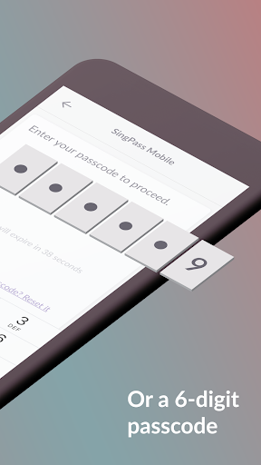 SingPass Mobile screenshot 7