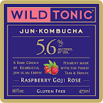 Wild Tonic Raspberry Goji Rose Jun Kombucha