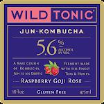 Wild Tonic Raspberry Goji Rose Jun Kombucha