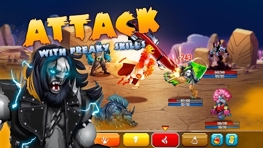 Monster Legends MOD 6.3.6 (Win With 3 Stars) APK 2