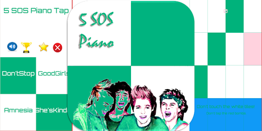5 Seconds of Summer Piano Tap