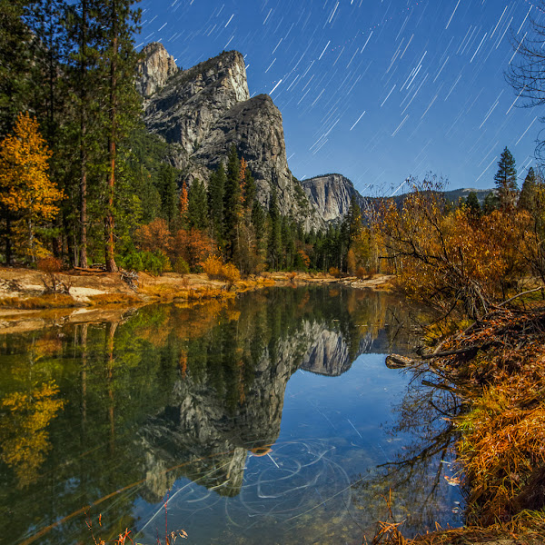 Photo: Join me for my Yosemite Full Moon & Fall Colors workshop this November!