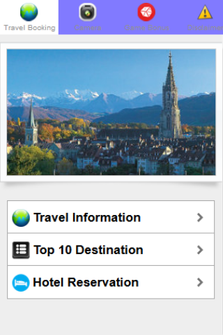 SwissTourism Hotel Reservation