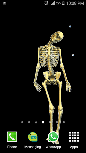 Skeleton Live wallpaper 1 screenshots 2