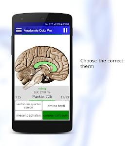 Anatomy Quiz Pro screenshot 1