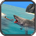 Angry Megalodon Attack icon