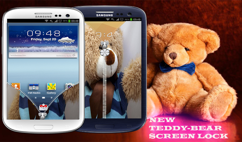 android best teddy Zipper Lock Screenshot 0