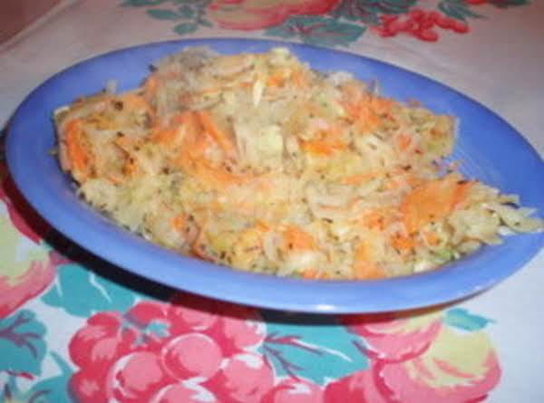 Carrot, Zucchini And Potato Shreds Recipe