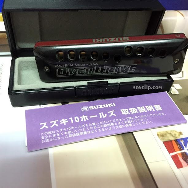 Kèn Harmonica - Suzuki Overdrive MR-300 (key G)