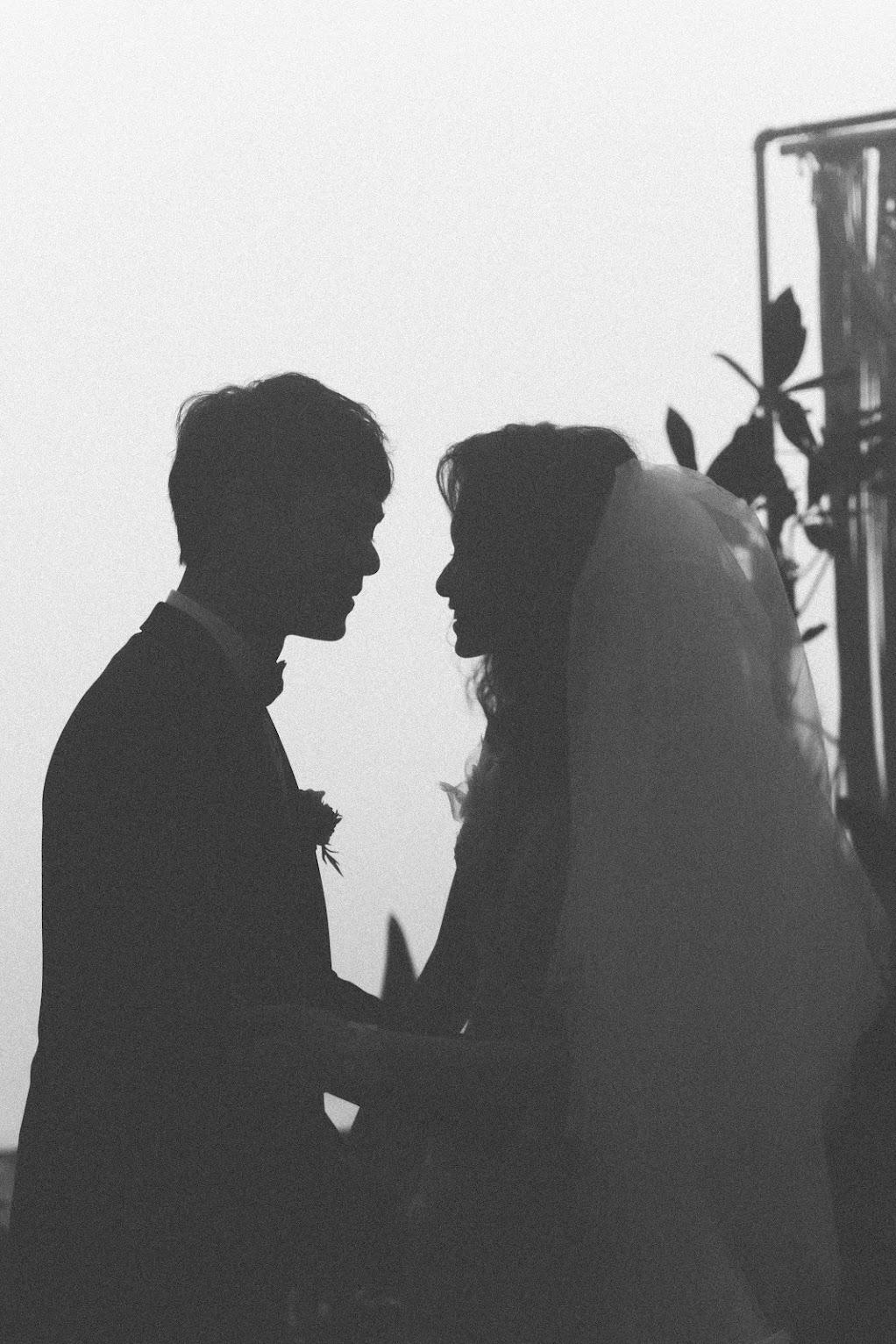 涵碧樓婚禮攝影 -相視而笑