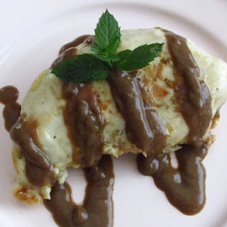Chicken Breast With Coffee Sauce.