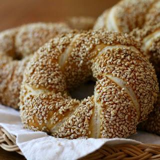 Turkish Simit Bread.