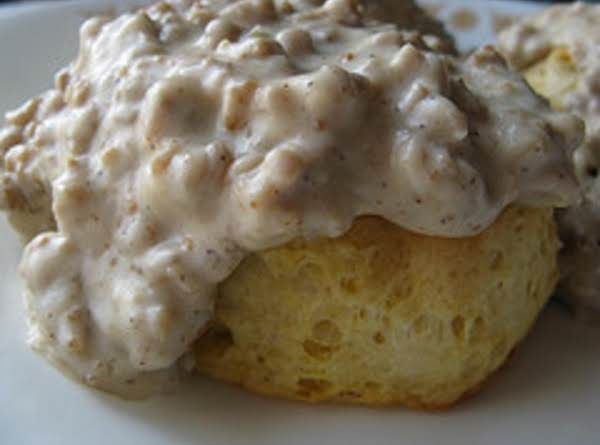 Spicy Sausage Gravy & Biscuits Recipe