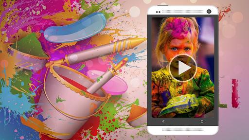 Happy Holi Video Maker 1.0.3 screenshots 1
