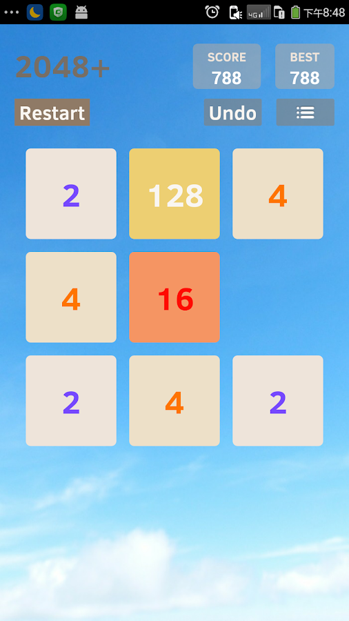 Screenshots of 2048 Plus for iPhone