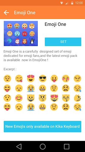 Emoji Plus for Galaxy-Kika Screenshot