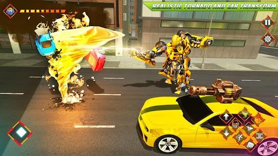 Robot tornado transform Shooting games 2020 3