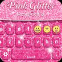 Pink Glitter Keyboard icon