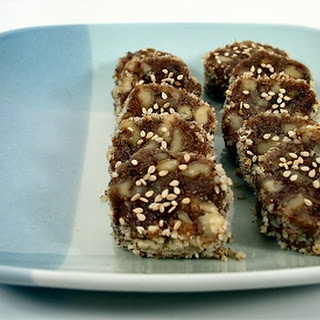 Date-Nut Slices Recipe