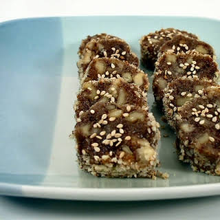 Date-Nut Slices.