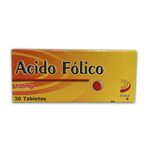 Acido Folico 10mg 30 Tabletas