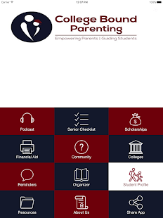 College Bound Parenting- screenshot thumbnail