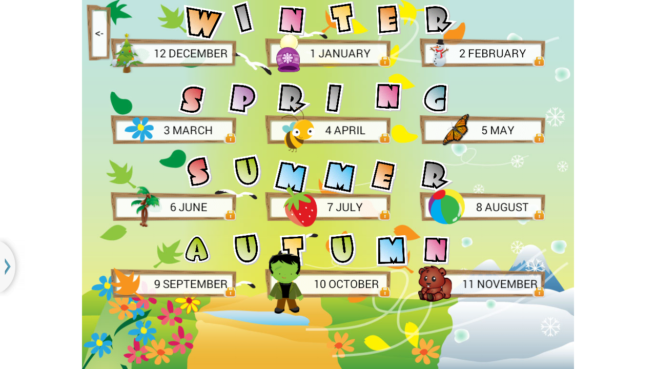 Months Of Fall Season: Android Apps On Google Play