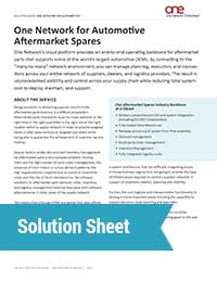 Aftermarket Spares Solutions
