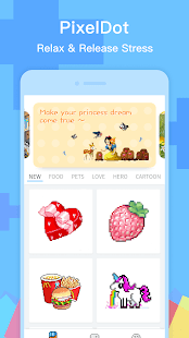 PixelDot - Color by Number Pixel Art Screenshot