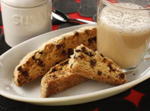 Chocolate-chip Biscotti Cookies
