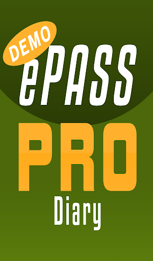 Screenshot for ePASS PRO BBT Diary DEMO in United States Play Store