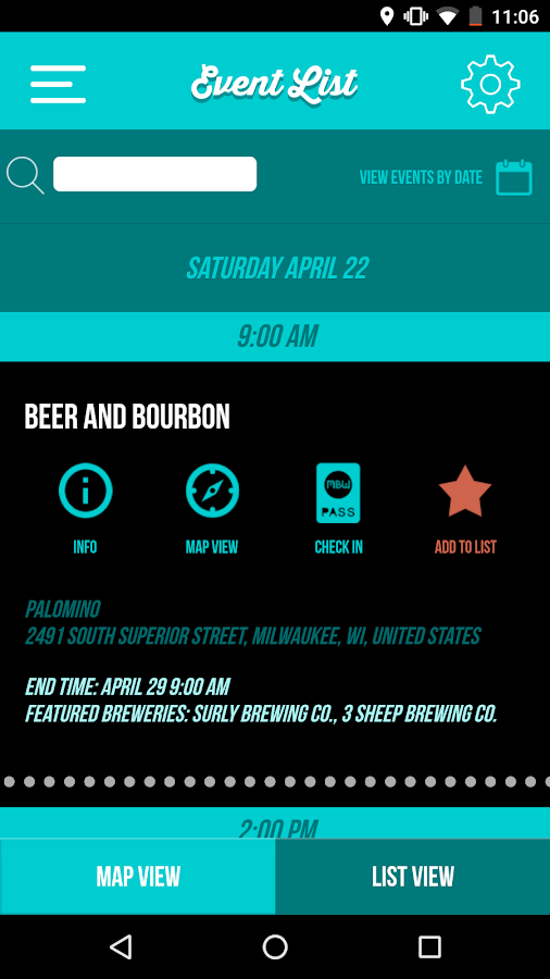 Milwaukee Beer Week 2017- screenshot