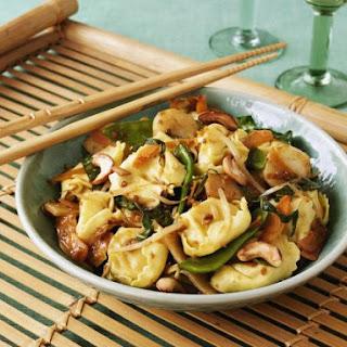 Asian-style Tortellini.