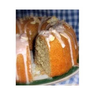Maple Almond Cake.