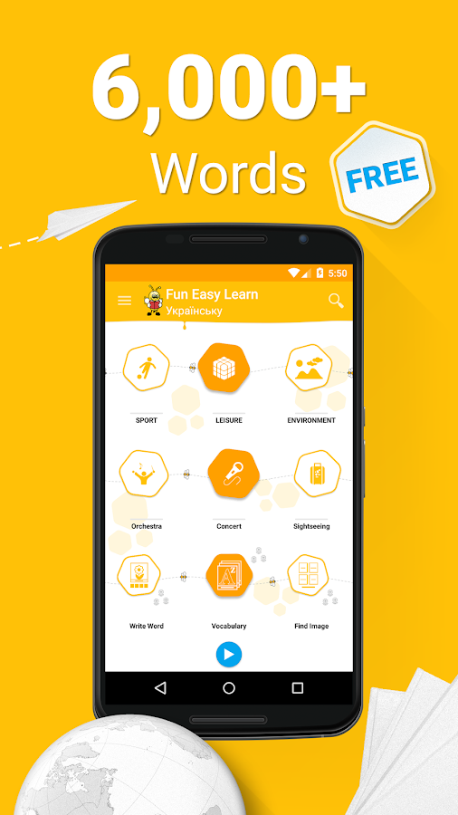 Learn Ukrainian Vocabulary - 6,000 Words- screenshot