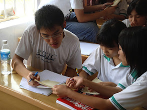 Photo: Hong Kong International School student teaching English as a second language