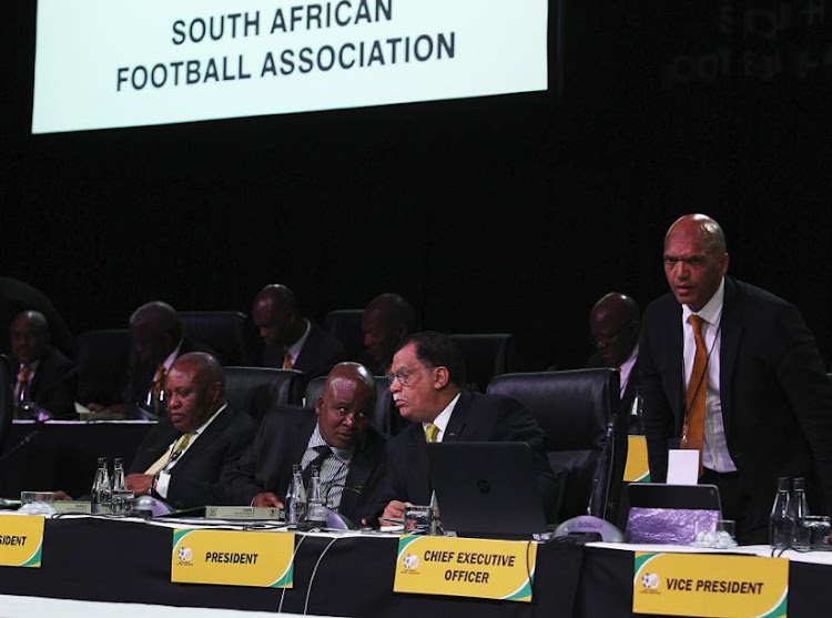 Dr Danny Jordaan has been resoundingly re-elected SAFA President by a margin of 95.12%.