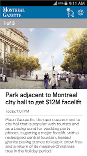 The Montreal Gazette- screenshot thumbnail