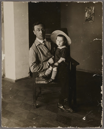 Wassily Kandinsky and his son Vsevolod