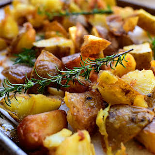 Rosemary Garlic Fried Potatoes.